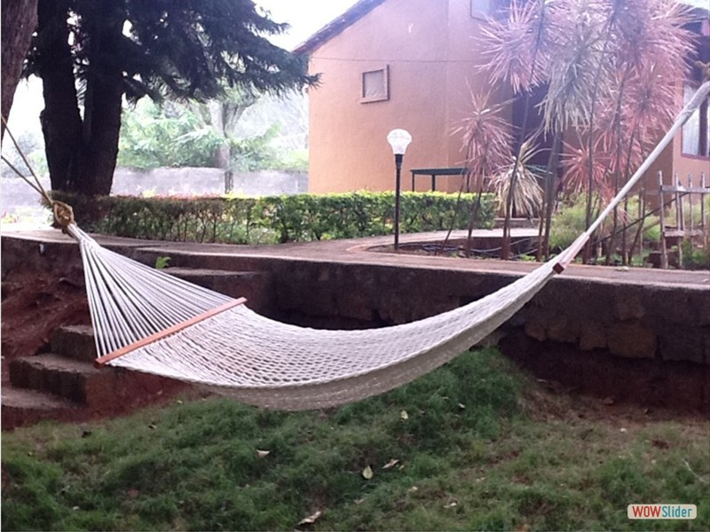 Relax with a Hammock